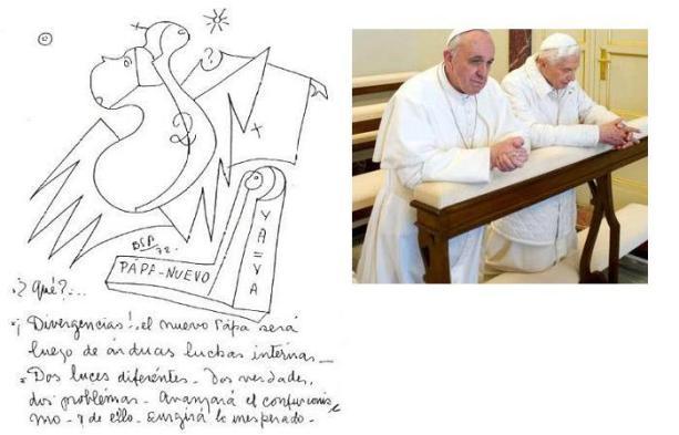 Resultado de imagen para velmont papa francisco parravicini