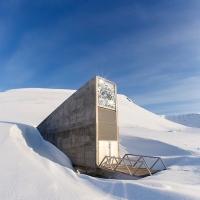 """""""La bóveda del Día final"""" en el Ártico (Doomsday Seed Vault)"""