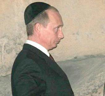 La tienen adentro, Putin: