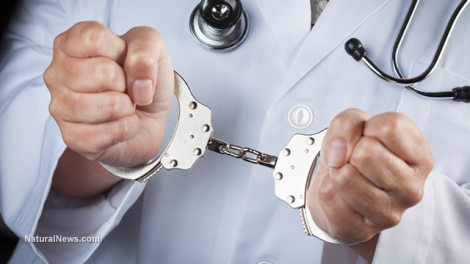 Doctor-Handcuffs-Arrested