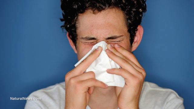 Man-Sneeze-Nose-Tissue
