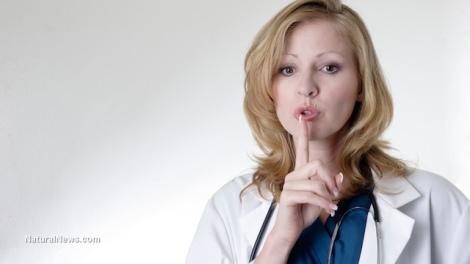 Woman-Doctor-Secret-Hush-Finger-Mouth